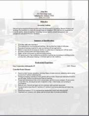 Free Job Resume Template3