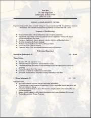 Free Seasonal Employment Resume Template3