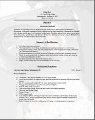 Automotive Mechanic Resume3