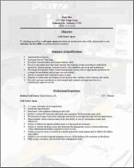 Call Center Resume1