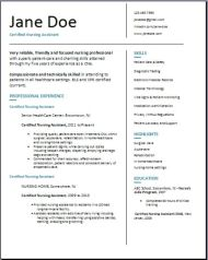 Certified Nursing Assistant Resume3