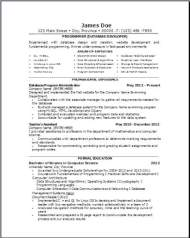 Computer Database Resume2
