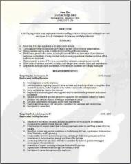 Employment Staffing Resume3