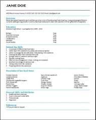 Free High School Resume3