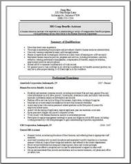Hr Comp Benefits Resume3
