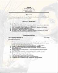 Hr Resume Cover Letter Dayjobcom
