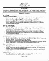 HR Management Resume2