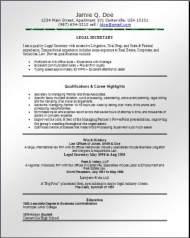 Legal Resume3