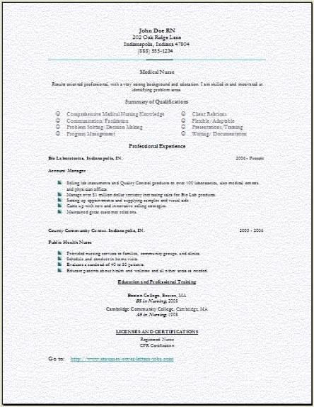 Medical Nursing Resume3