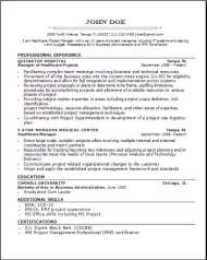 Medical Professional Resume2