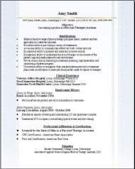 Medical PT Rehabilitation Resume3