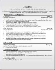 Networking Tech Resume3
