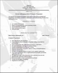 Programming Resume3