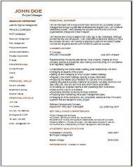 Project Management Resume2