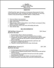 Perfect Real Estate Resume ... Regard To Realtor Resume Examples