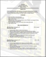 real estate resume examples samples free edit with word