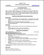 Technical Sales Resume Occupationalexamplessamples Free edit with