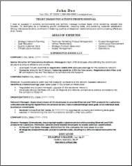 Telecommunications Resume2