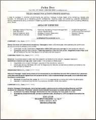 Telecommunications Resume3
