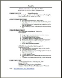 dental hygienist resume 1