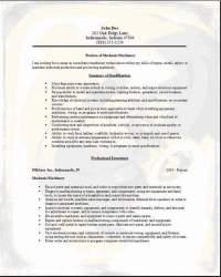 Mechanic Machinery Resume3