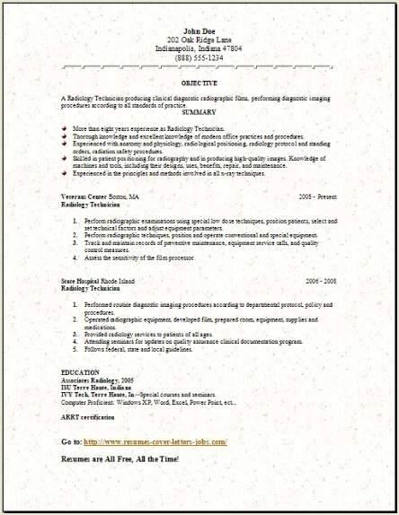 Medical Lab Radiology Resume3