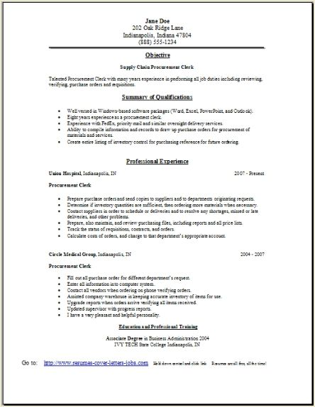 Supply chain resume occupational examples samples free for Cover letter for supply chain management
