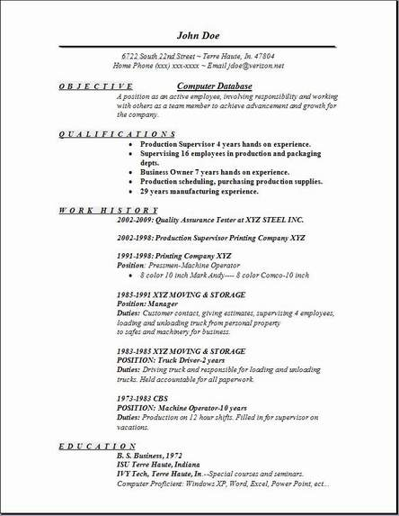 Wonderful Computer Database Resume, Occupational:examples,samples Free Edit With Word Regarding Resume Database