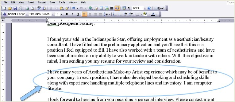Editing Resume Cover Letter Samples6