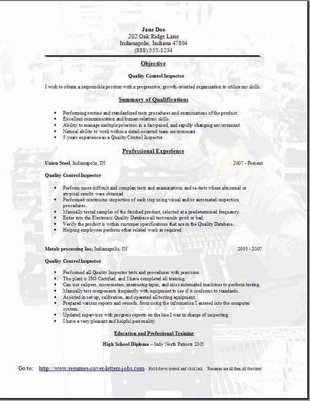 qa tester resume resume format download pdf