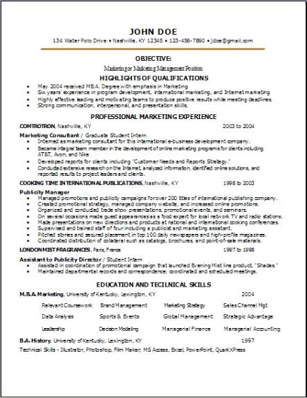 Research Resume Occupational Examples Samples Free Edit
