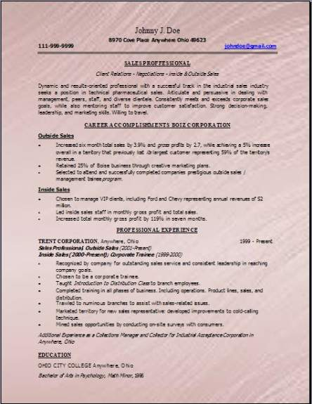 Technical Sales Resume3