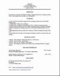 Superior Welder Resume1 Welder Resume2 Welder Resume3 Regard To Welder Resume Sample