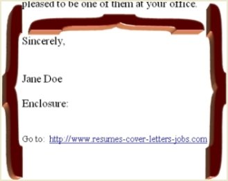 Cover Letter Closing