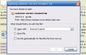 Free Printable Resume File