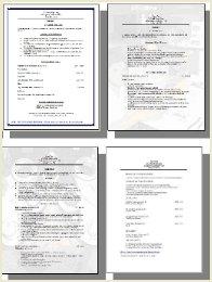 Free Printable Resume in Word